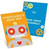 Robot Love Classroom Valentines