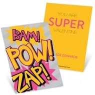 Super Powers Classroom Valentines