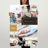 Faux-Foil Frame 24x36 Custom Poster Graduation Party Decorations