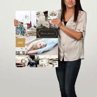Faux-Foil Frame 18x24 Custom Poster Graduation Party Decorations