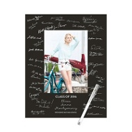 Color Frame Photo Guest Book Print -- Graduation Party Decorations