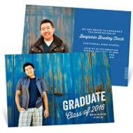 Rustic Grad Graduation Announcements
