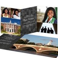 Chalkboard Achievement College Graduation Announcements