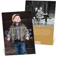Font Of Holly Holiday Photo Cards