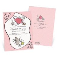 Coffee Or Tea Sip & See Baby Shower Invitations
