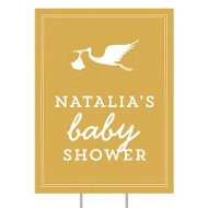 Special Delivery Yard Sign Baby Shower Decorations