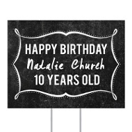 Marquee Birthday Yard Sign Kids Party Decorations