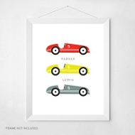 Go Carts -- Wall Art