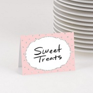 Glitter Princess Table Cards -- Kids Party Decorations