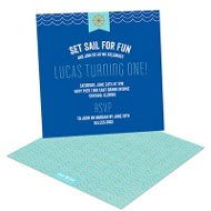 Set Sail -- Kids Birthday Invitations