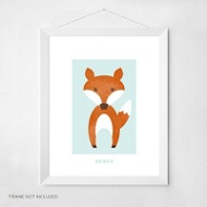 Foxy Friend -- Wall Art