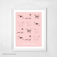Cute Cats -- Wall Art