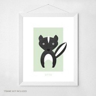 Skunk Love -- Wall Art