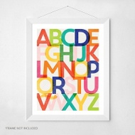 Know Your Letters -- Wall Art