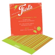 Lime Squeeze Party Invitations