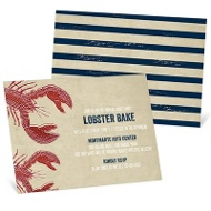 Lobster Boil Party Invitations
