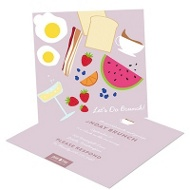 Ladies Who Brunch Party Invitations
