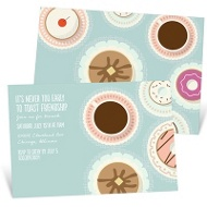Let's Do Coffee Party Invitations