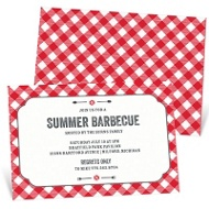 Picnic Table Party Invitations