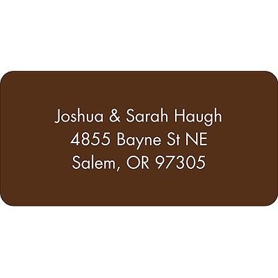 Sensational Color Address Label