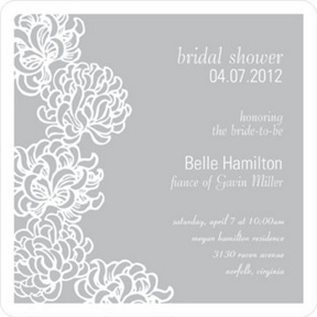 Blossoms -- Bridal Shower Invitation
