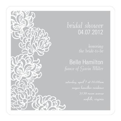 Blossoms Bridal Shower Invitation