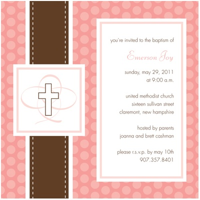 Christening Invitations | Pear Tree Greetings Blog - Top christening ...