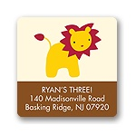 Safari Friends -- Address Label