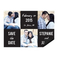 Love Squared - Save the Date Magnet