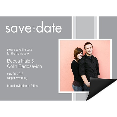 Togetherness - Save the Date Magnet