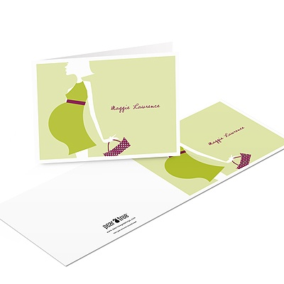 Baby Bump Baby Shower Thank You Cards