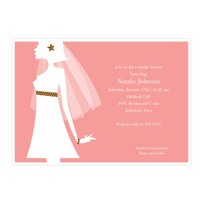 Chic Shower - Bridal Shower Invitation