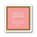 Chic Shower - Address Label