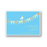 Banner Year -- Sky Birthday Invitation