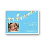 Banner Year -- Sky Photo Birthday Invitation