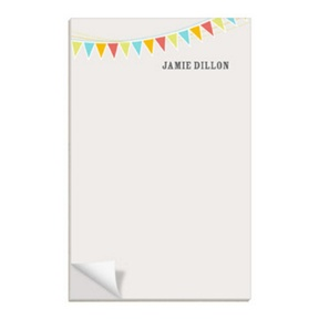 Tan Banner Year -- Notepads