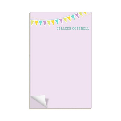 Purple Banner Year Notepads