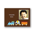 Choo Choo! -- Photo Thank You Card