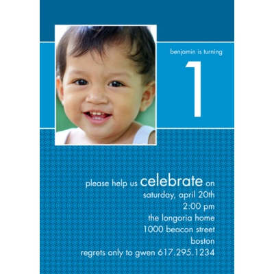 All Boy -- Birthday Invitation