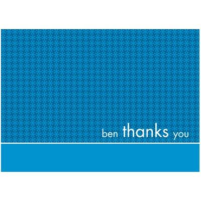 All Boy Thank You Card