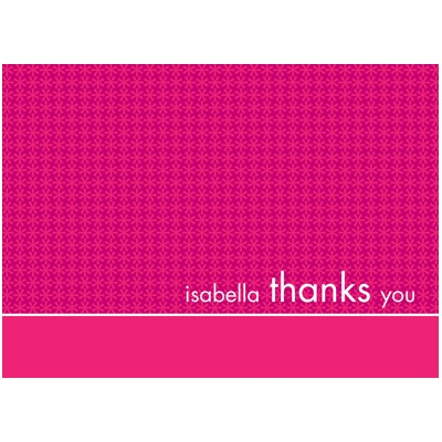 All Girl Thank You Card