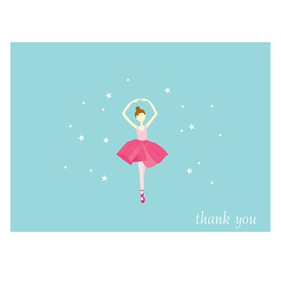 Twinkle Toes Thank You Card