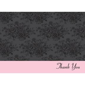 Little Black Dress -- Thank You Card
