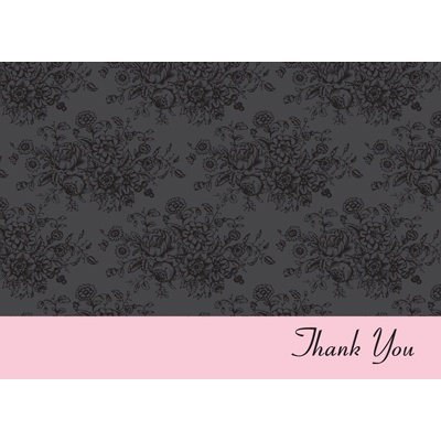 Little Black Dress -- Thank You Card