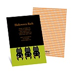 Just Batty -- Halloween Party Invitation