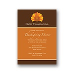 Gobble, Gobble -- Thanksgiving Invitation