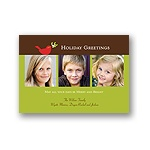 Tiny Dove -- Holiday Photo Card