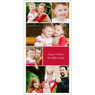 All About You Photo Christmas Cards