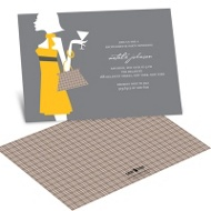 Chic Style Party Invitation