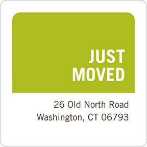 Just Moved -- Address Label